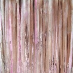 abstrakte Kunst rosa, abstract artwork in brown and pink