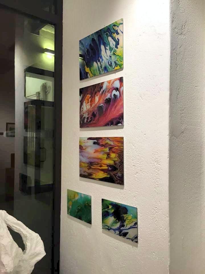 fluid acrylics, Kunst online kaufen, Kunst und Künstler aus München, Ausstellungen für Galerien