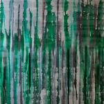 abstrakte Kunst grün, abstract art in green