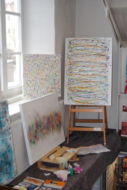 Ausstellung Kunst für ein modernes Zuhause, Kunst in Weilheim und online kaufen, Saatchi Art Künstlerin, Shop im Internet, Kunstwerke moderne Kunst in Weilheim nahe bei München