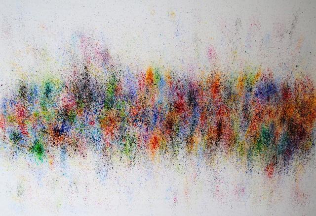 Ausstellung in London, abstrakte Kunst für Ausstellungen, Astrid Stöppel, astridstoeppel.com