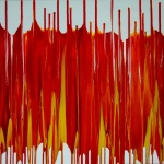 abstrakte Kunst rot, abstract, colorful and red, acrylic on canvas, unique artworks online, art shop, online shop, online gallery