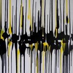 abstrakte Kunst gelb, astridstoeppel.com, Astrid Stöppel, modern works on canvas, acrylics, paintings, large artworks