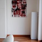 astridstoeppel.com, red art, black, artwork, design, running acrylics, saatchi art