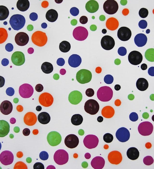 Summer Dots! Detail1 Astrid Stoeppel, Astridstoeppel.com