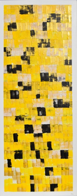 Klimt, series famous colors, famous colors, Astrid Stöppel, Astrid Stoeppel, astridstoeppel.com, german artist, modern, abstract, contemporary, unique art, Monet, water lilies, artnet, Saatchi Art, Artfinder, ArtPeople, Kunst, Kunst online, online shop, colorful, golden, yellow, Gustav Klimt, golden yellow, Artnet, gold, gelb, goldgelb, berühmter Künstler, gold mit Acryl