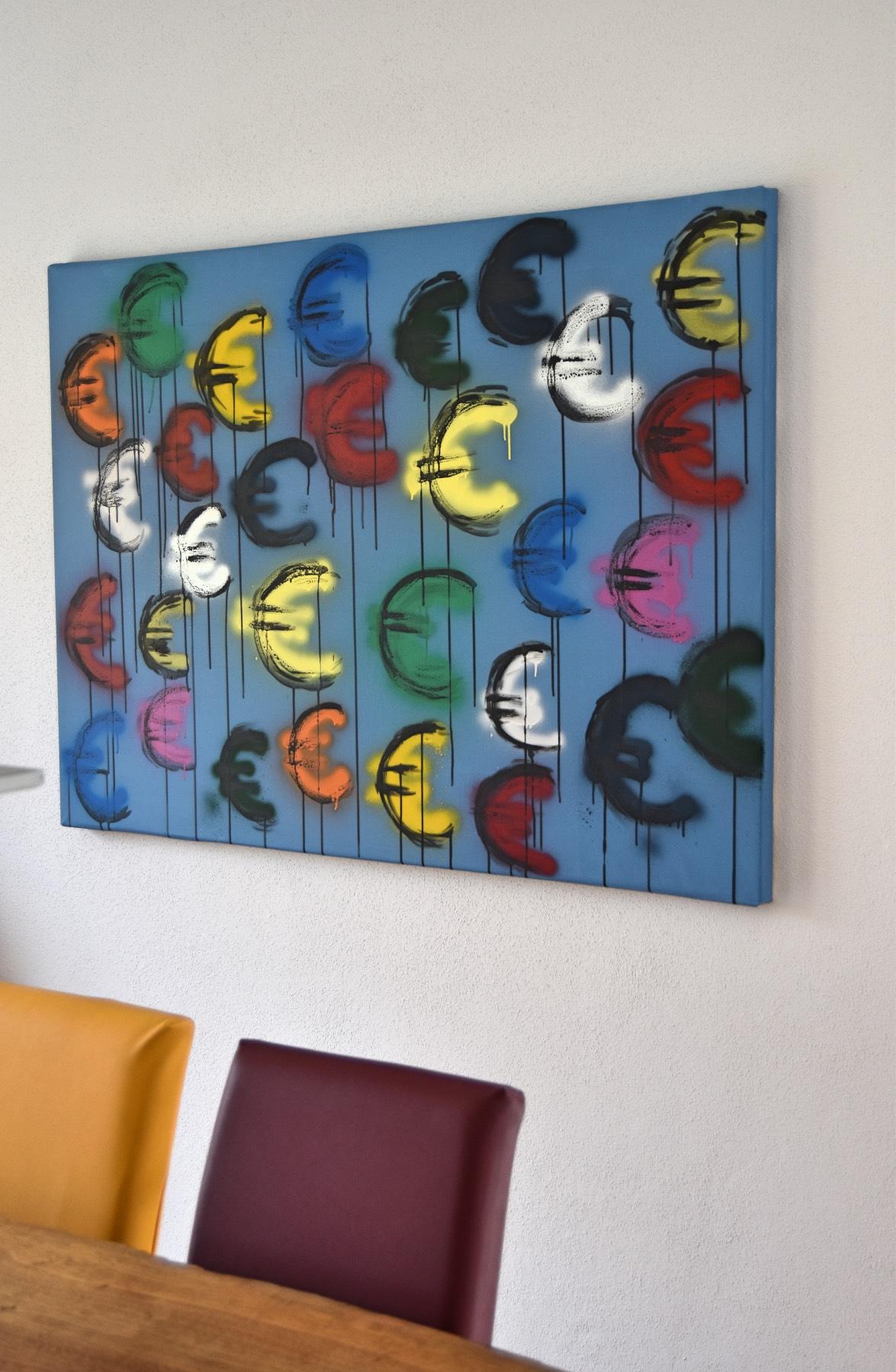 Euro signs! room1 Astrid Stoeppel, astridstoeppel.com - astrid stoeppel