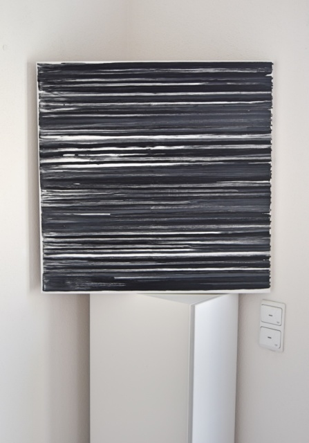 contemporary art, modern art, german art, german artist, modern, black and white, black painting, white painting, Saatchi Art artist, Saatchi Art, Astrid Stoeppel, Astrid Stöppel, astridstoeppel.com, unique art, art collector, collector art, Instagram, Facebook, Internationale Kunst heute, deutsche Kunst, deutsche Künstler, Top 100, artnet, artsy, TOAF 2017, The Other Art Fair 2017, Brooklyn, New York 2017, international exhibitions, solo exhibitions, Basel, Miami, Paris, Milano, Roma, London, New York, Firence, abstrakte Malerei in Deutschland, Art und Design, Designer, modernes Wohnen, modern living
